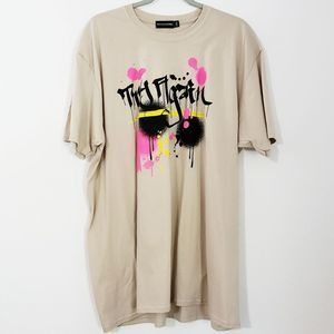 "Pretty Little Thing ""Try Again""  Graphic Tee 2XL"